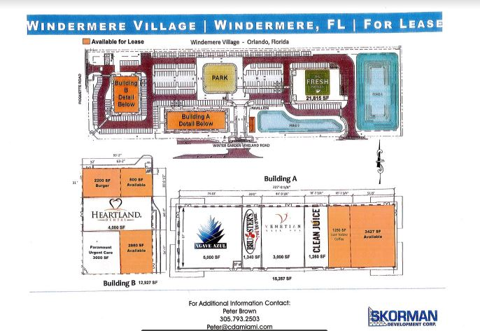 Windermere Village 10 New acres of Upscale Shopping