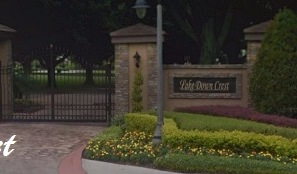 Lake Down Crest a gated community in Windermere Florida