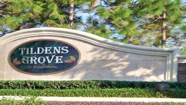 Tilden's Grove a Gated Community in Windermere Florida. Great information !