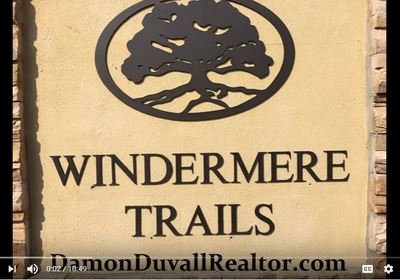 Video Windermere Trails a gated community in Windermere Florida. Public Schools,Utilities and Shopping information