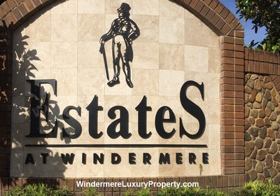 HD Video Drive through of The Estates at Windermere in Windermere Florida