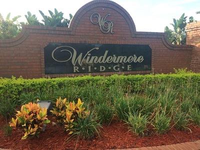 Windermere Ridge Homes For Sale|Windermere Fl