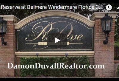 The Reserve at Belmere Windermere Fl-Homes For Sale-Rent